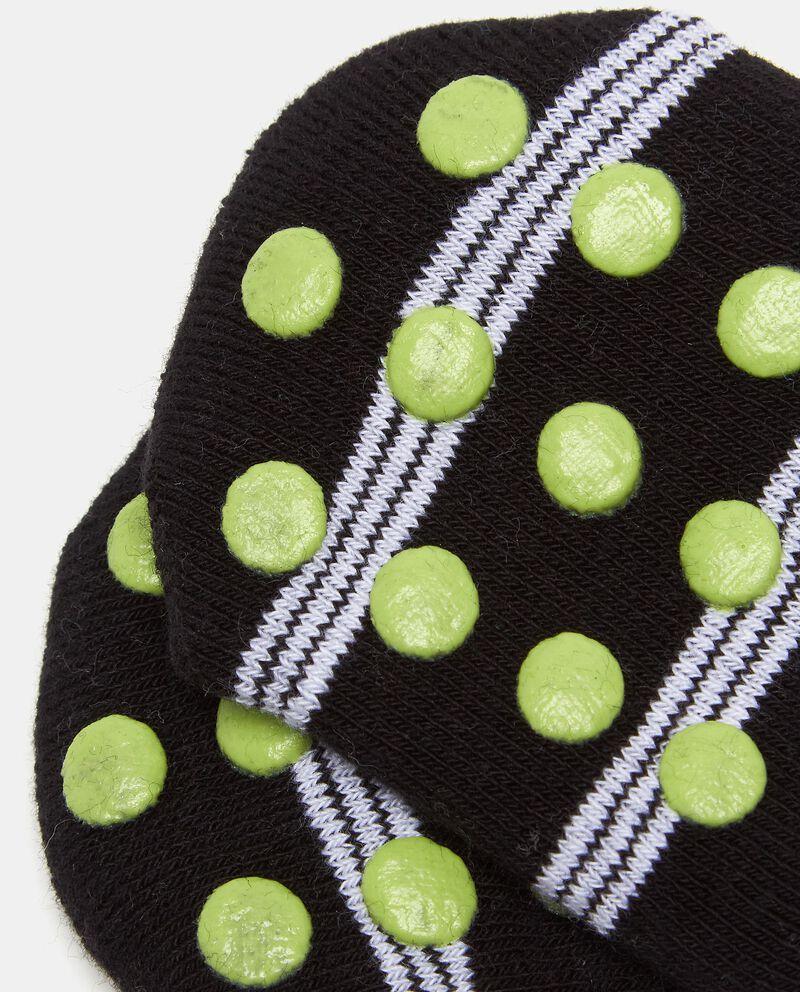 Calzini stampati in cotone elasticato neonato