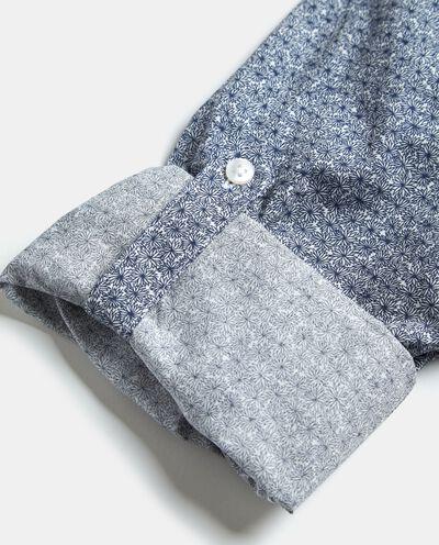 Camicia in fantasia puro cotone