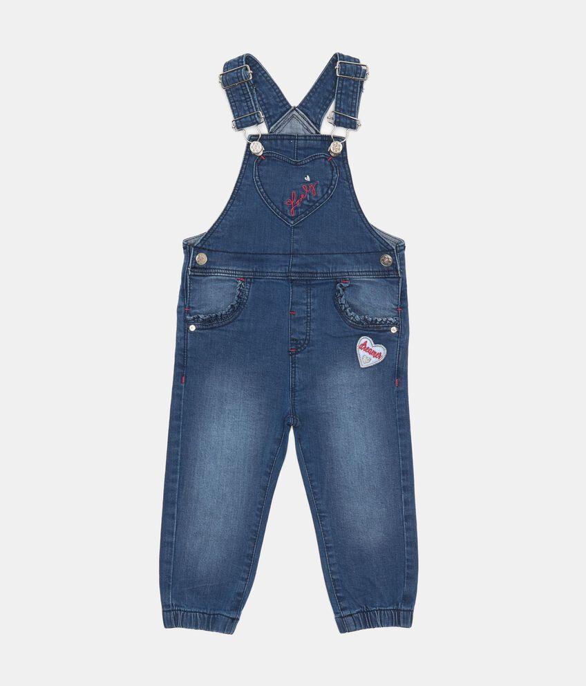 Salopette di jeans stretch