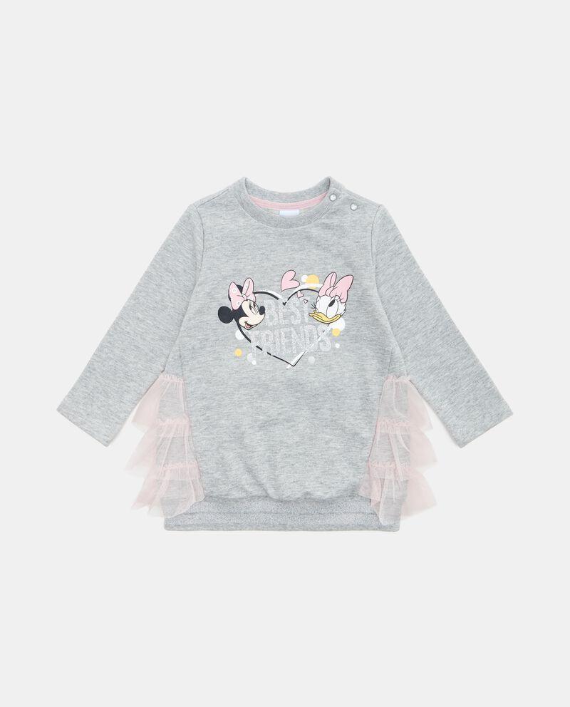 Vestito felpato neonata