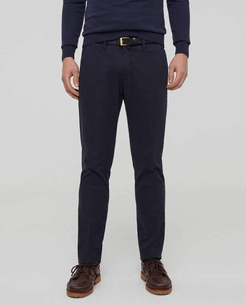 Chino slim fit in cotone stretch