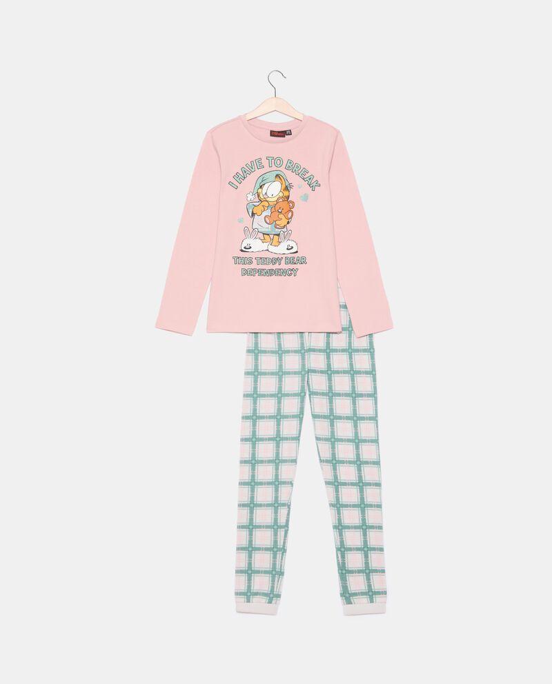 Set pigiama in puro cotone bambina Mini Me Garfield cover
