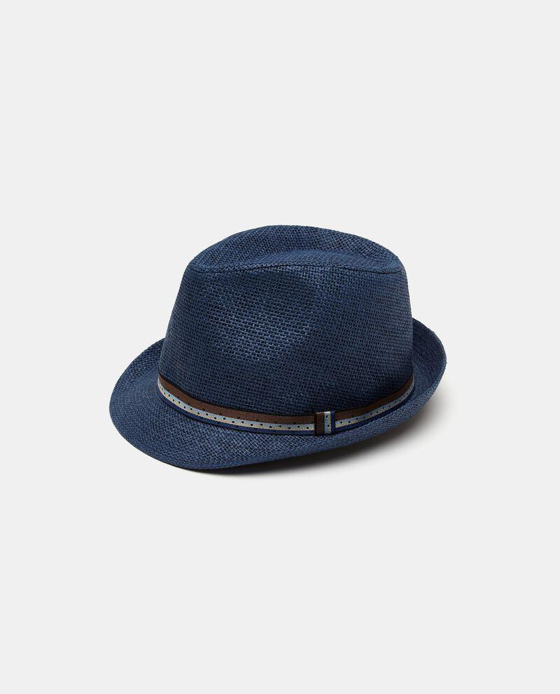 Cappello fedora con nastro uomo