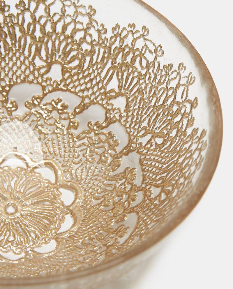 Ciotola decorata motivo merletti