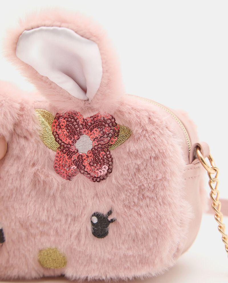 Borsetta eco fur coniglietto ragazzadouble bordered 1