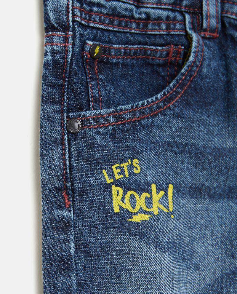 Jeans effetto rovinato neonato