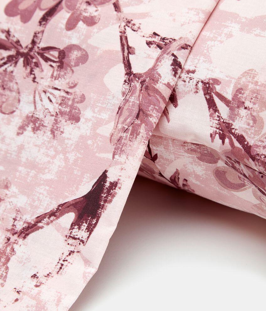 Copripiumino con fantasia magnolie