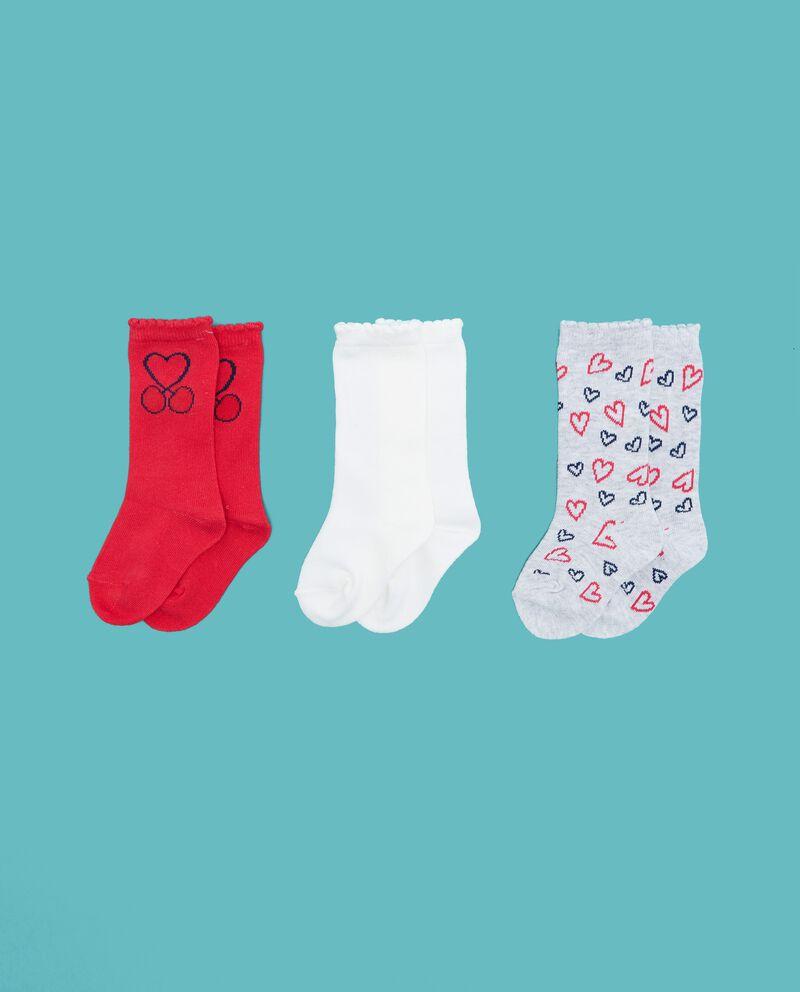 Set calzini tinta unita e fantasia neonata