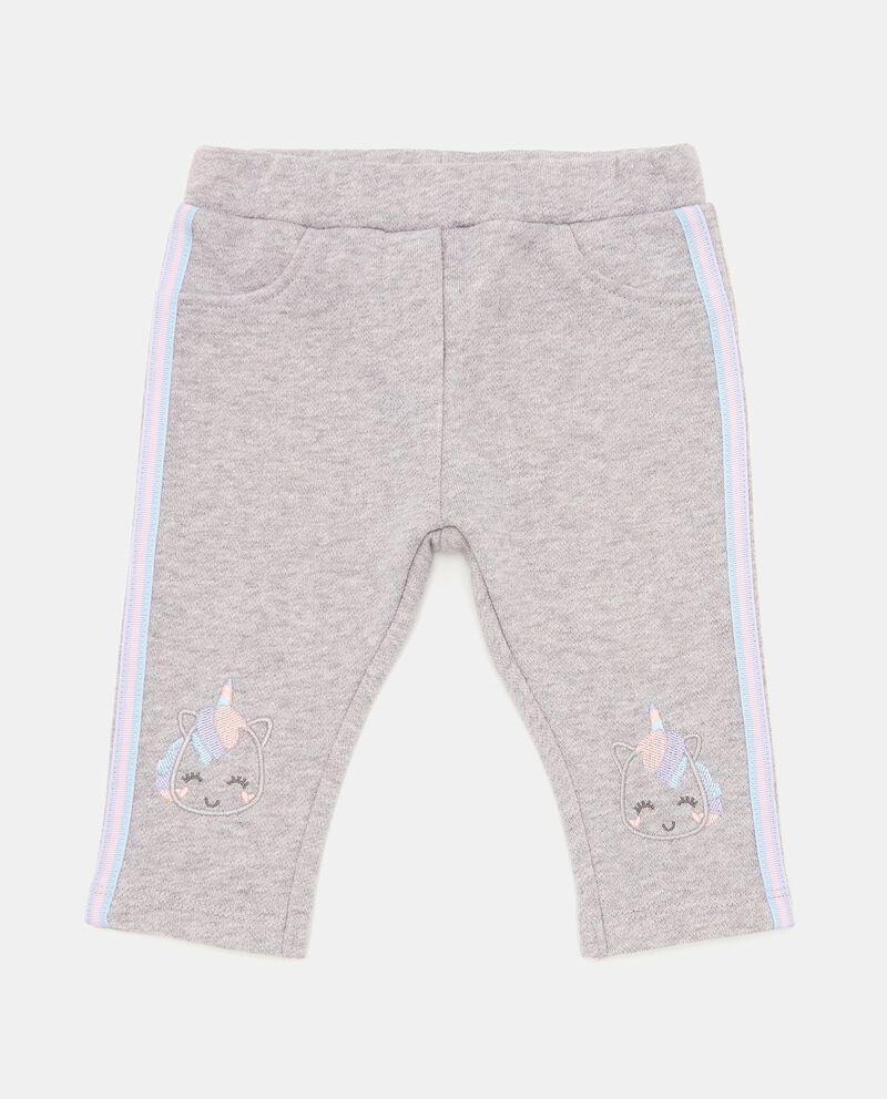 Pantaloni con bande a righe neonata