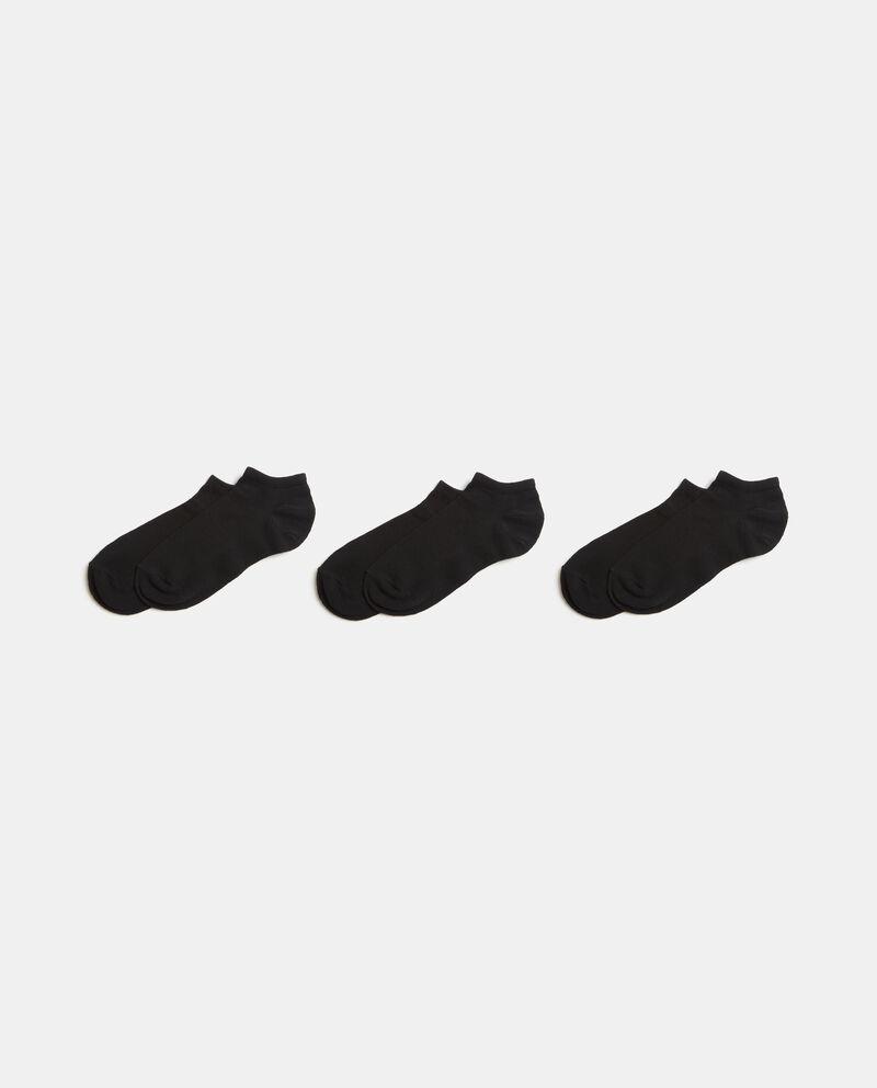 Set con calzini corti sportivi uomo