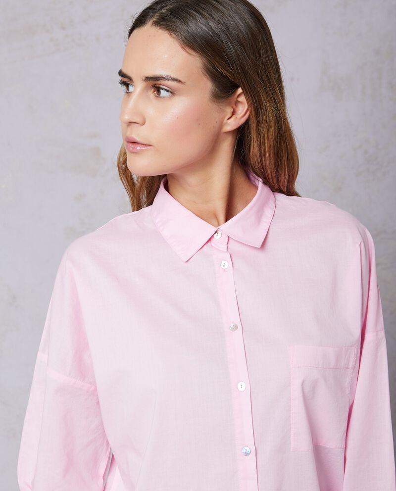 Camicia puro cotone con taschino