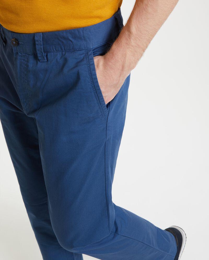 Pantaloni chino in puro cotone uomo single tile 2