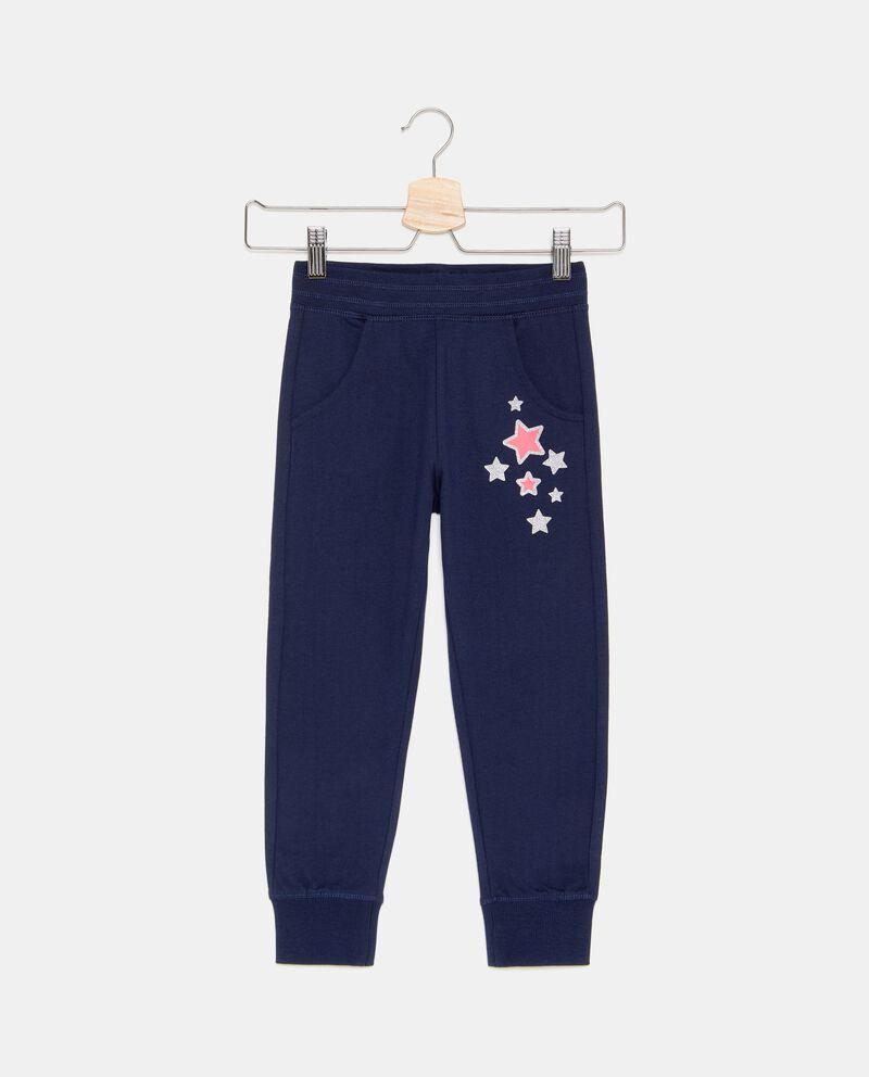 Pantaloni con stelline in glitter