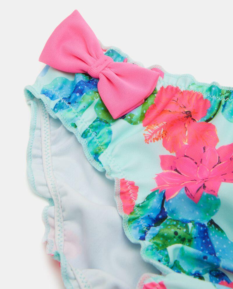 Costume slip in fantasia floreale bambina single tile 1