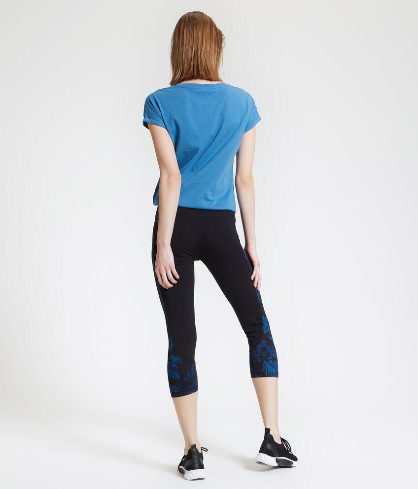 Leggings Fitness a tre quarti donna