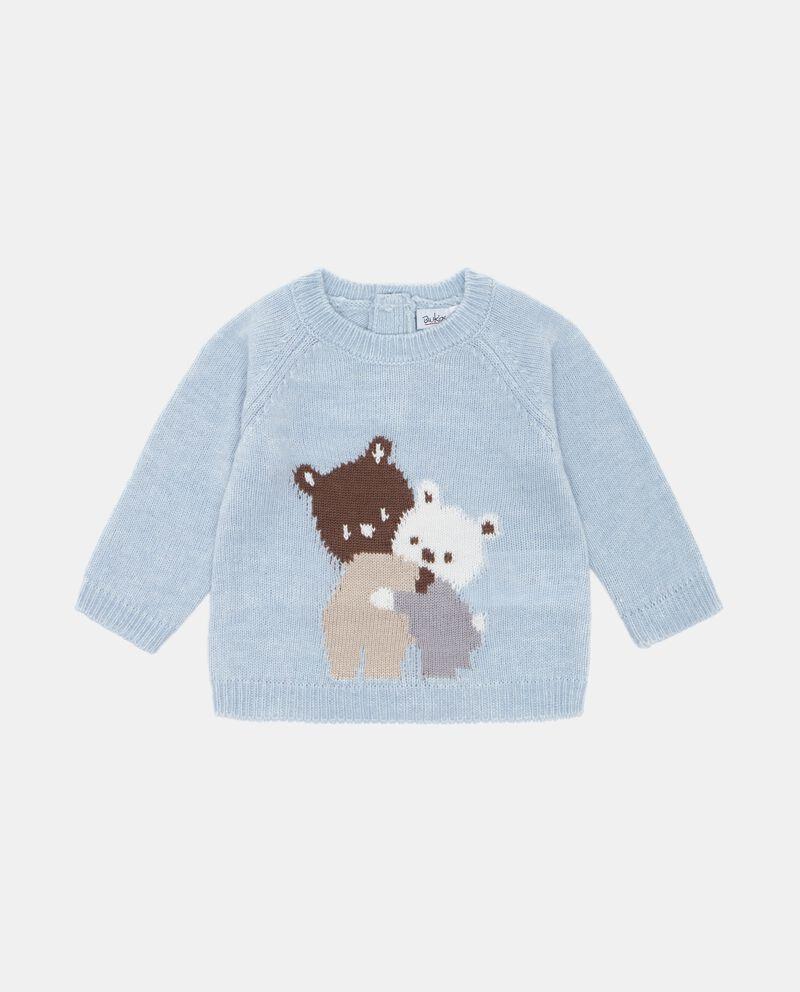 Maglione con disegno neonato