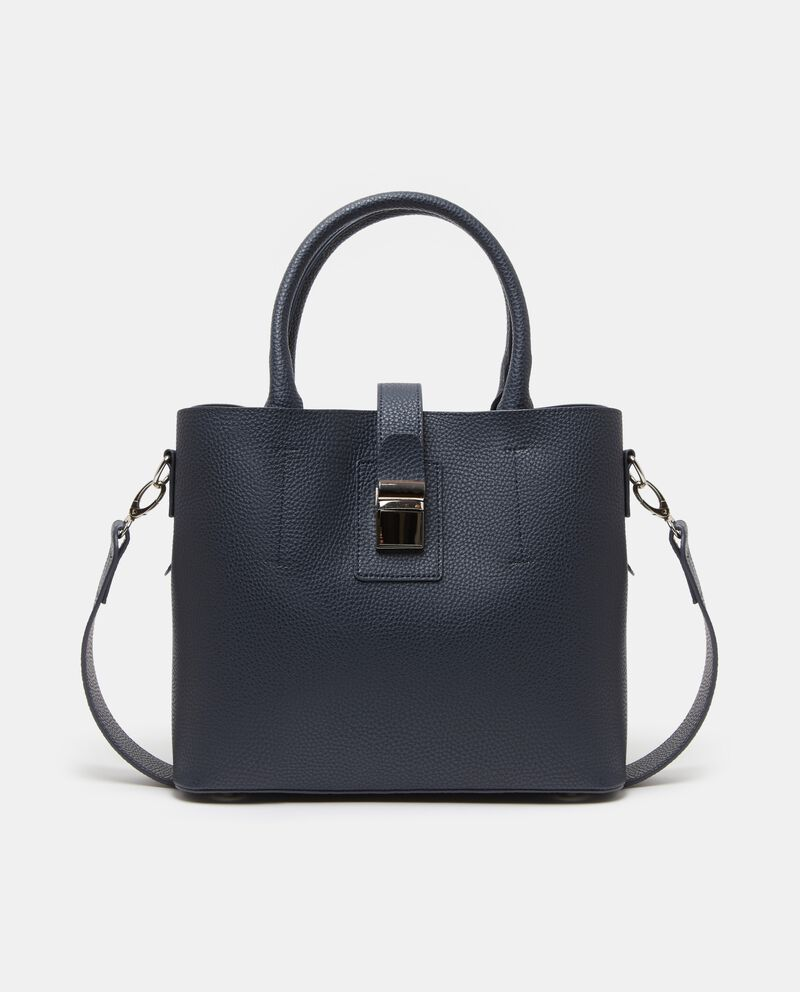 Citybag con effetto in similpelle donna