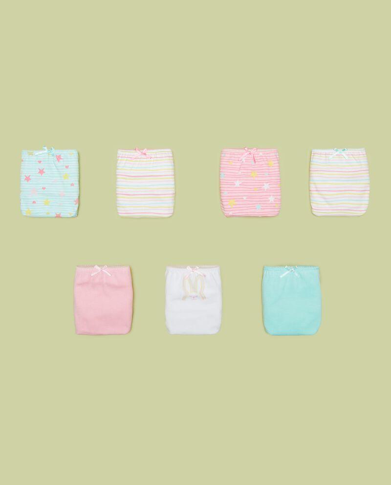 Seven pack slip in puro cotone