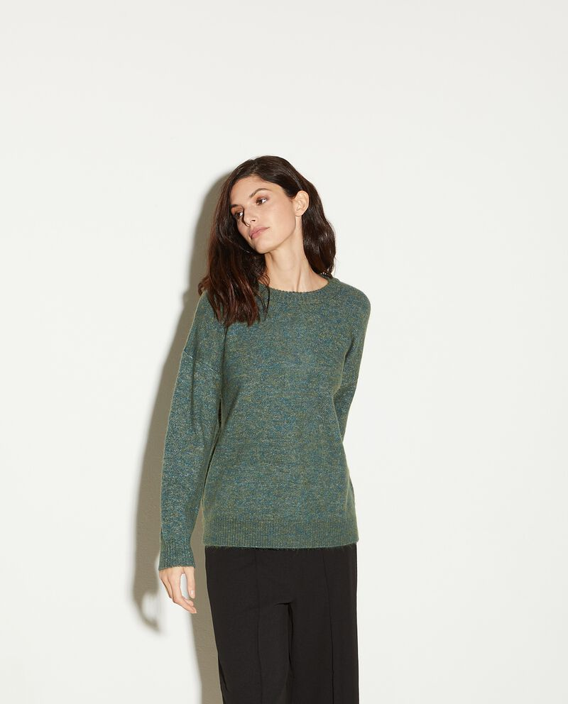 Maglioncino tweed donna