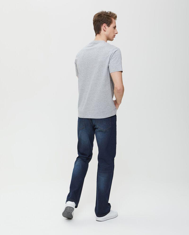 T-shirt in cotone a maniche corte con stampa