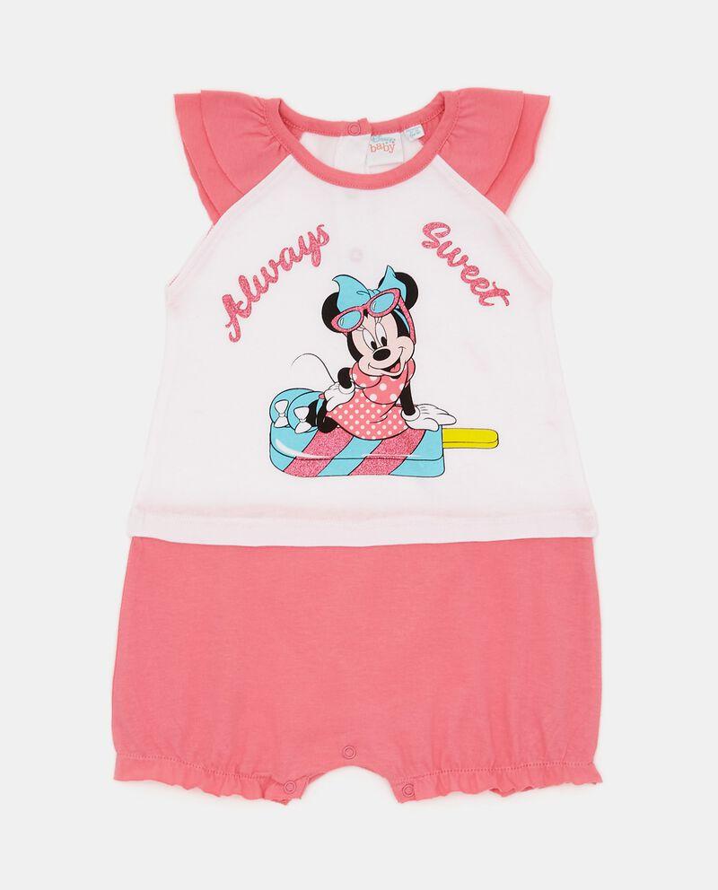 Tutina pigiama puro cotone Minnie neonata