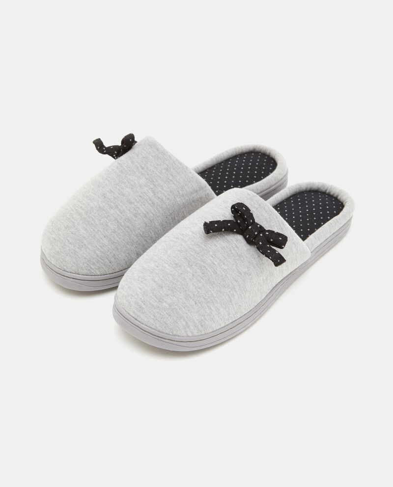 Pantofole fiocchetti donna