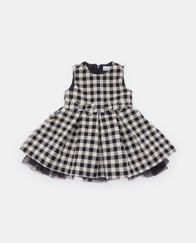 Vestito pied de poule neonata
