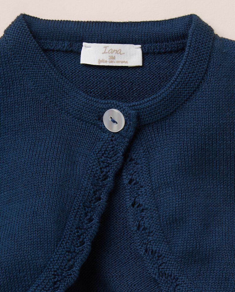 Golfino scaldacuore in maglia di puro cotone