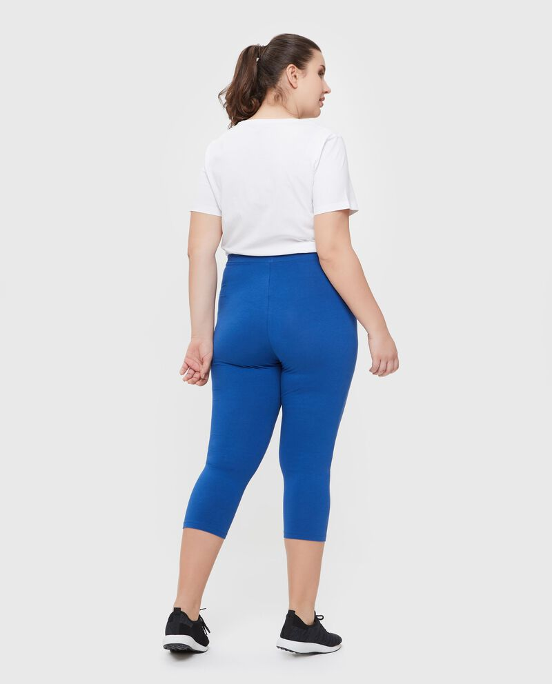 Leggings in cotone misto elastane Curvy donna