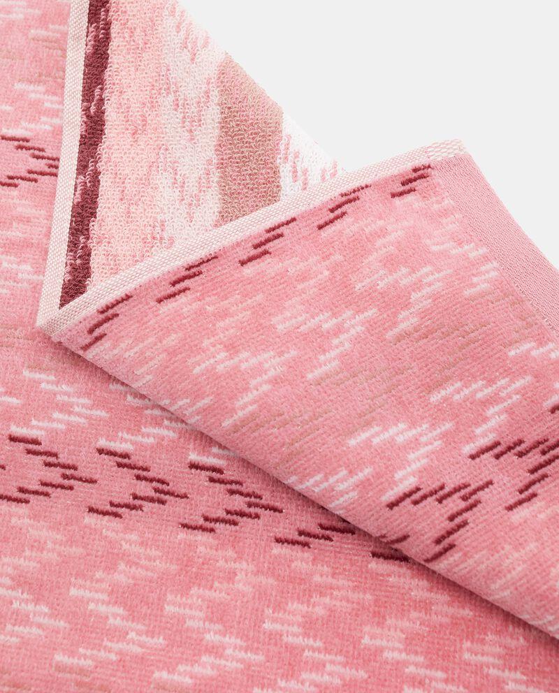 Asciugamano ospite spigato in puro cotone