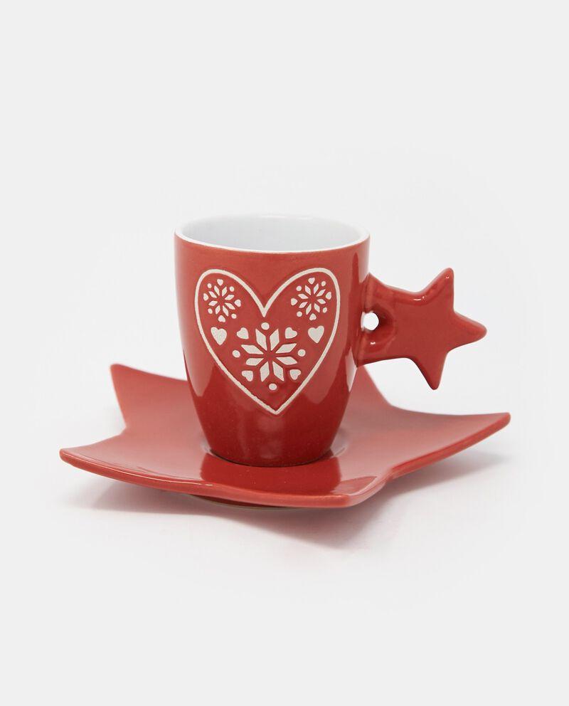 Set quattro tazzine da caffè a stella