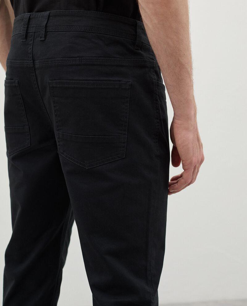 Pantaloni skinny in cotone uomo single tile 2