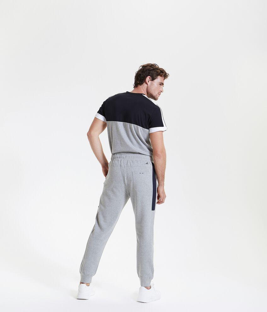 Pantaloni sportivi con banda laterale uomo