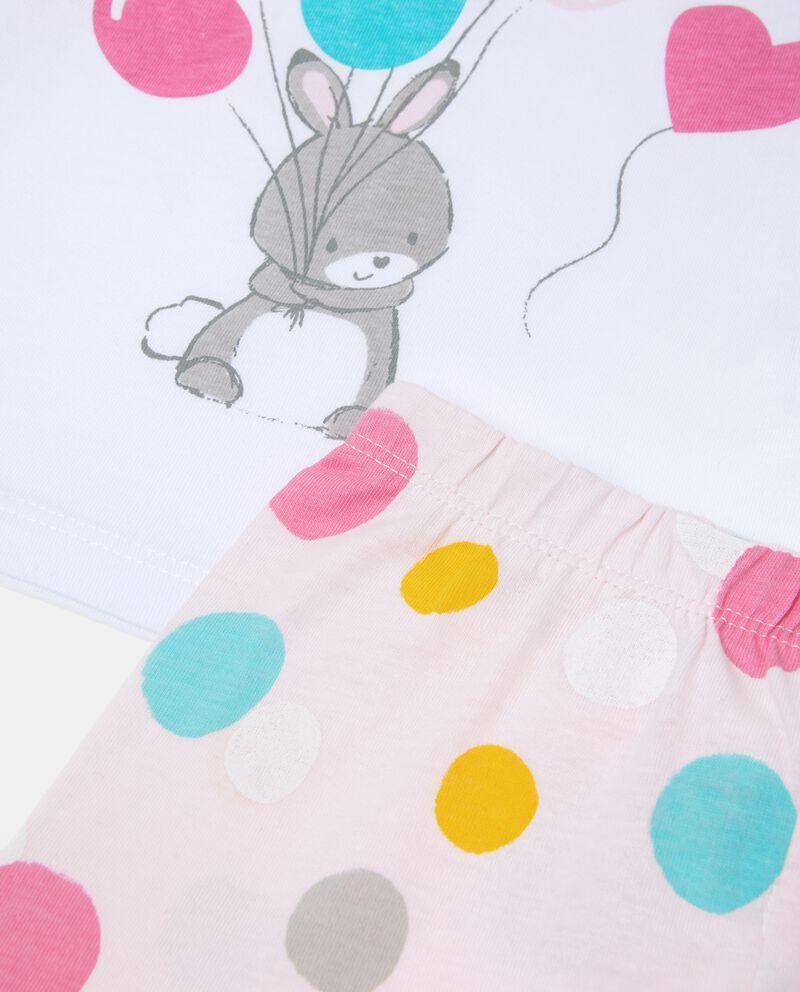 Set pigiama con stampa neonata