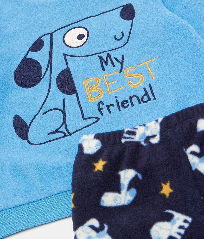 Set pigiama in pile neonato