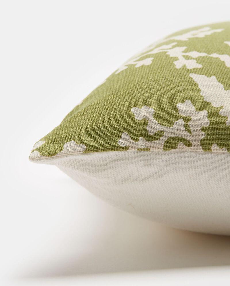 Cuscino con stampa foglie