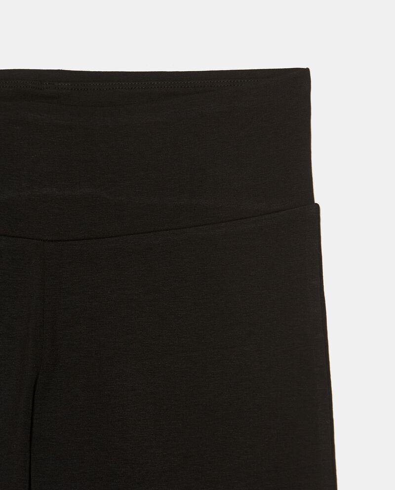 Leggings in cotone elasticizzato donna