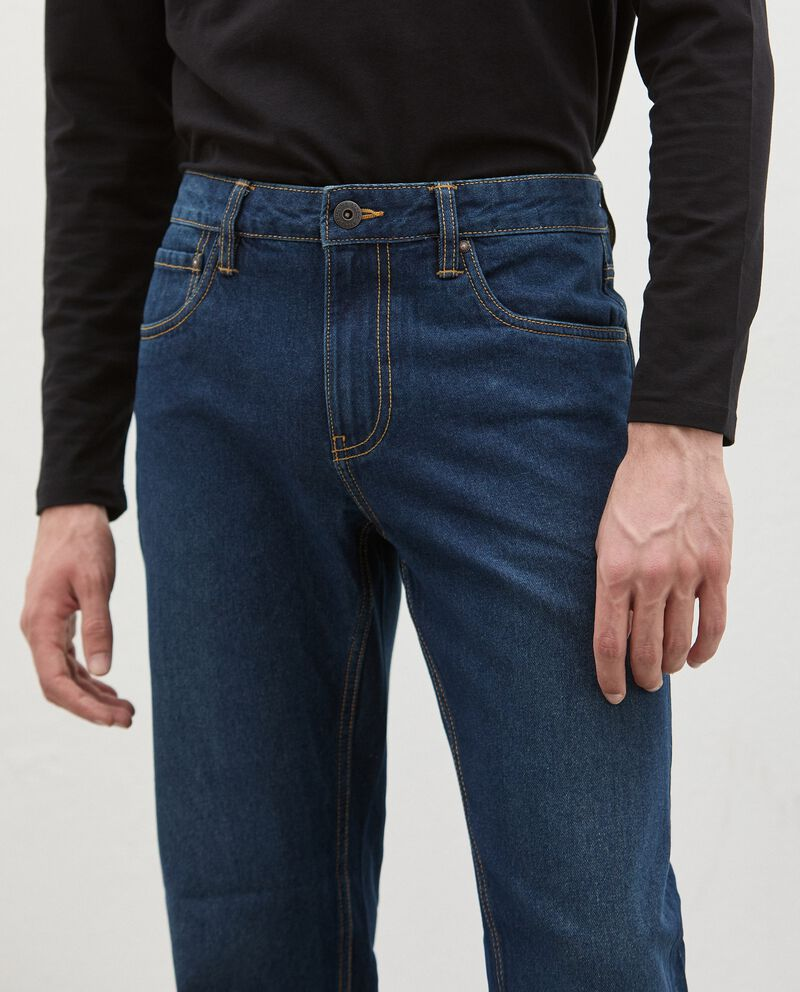 Jeans fit regular uomo single tile 2