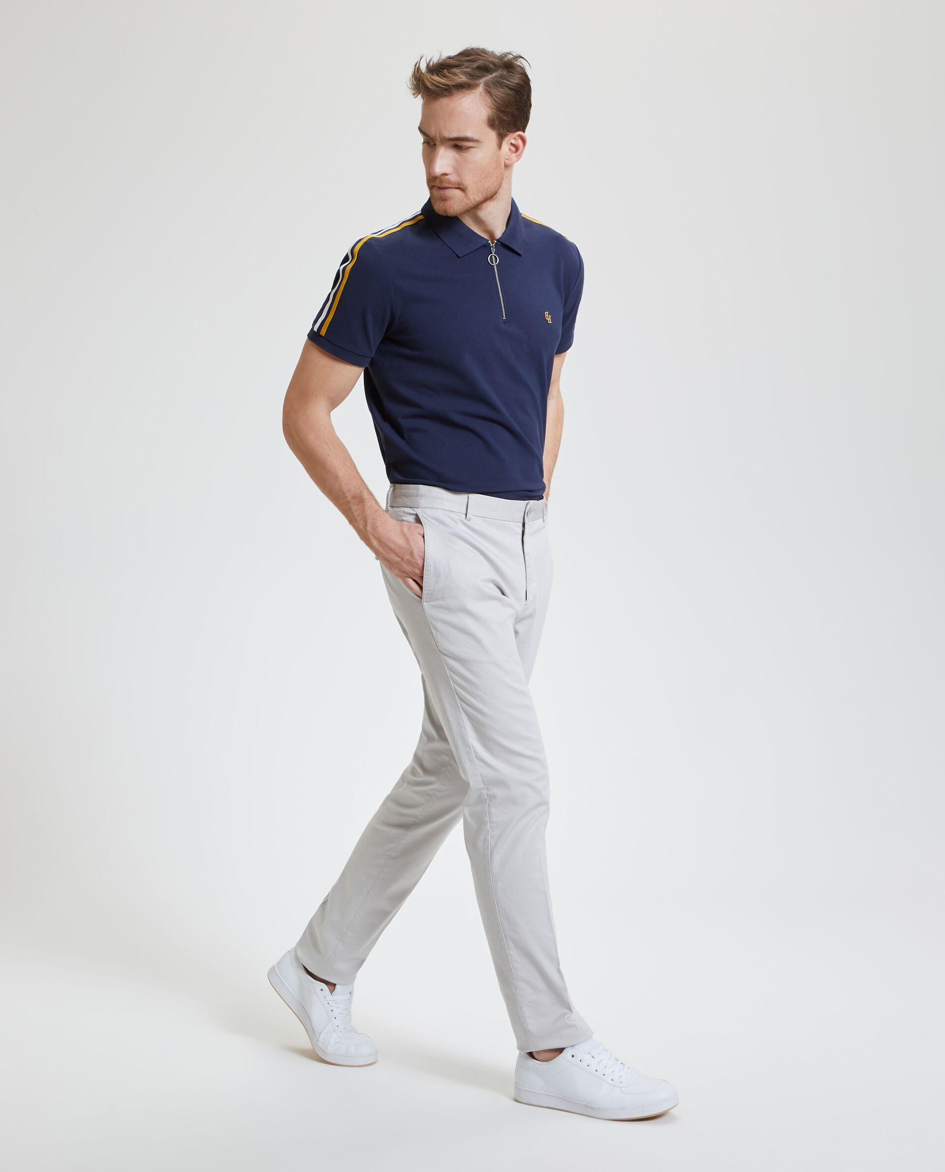 Pantaloni chino in tinta unita uomo