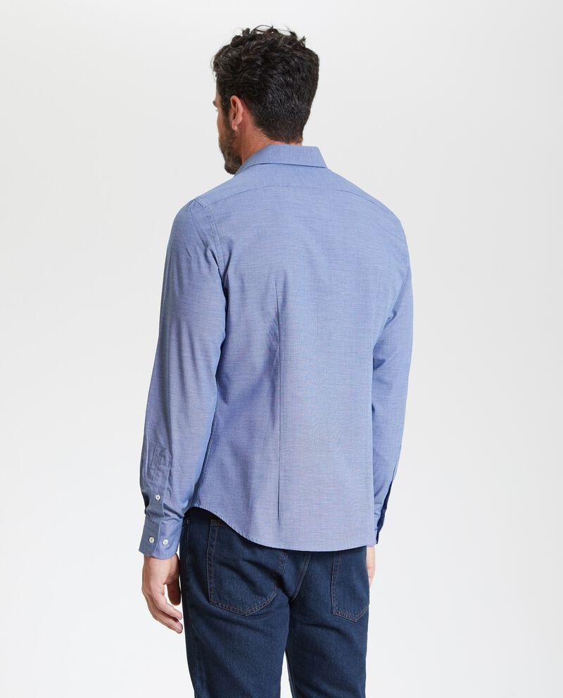 Camicia effetto mélange uomo