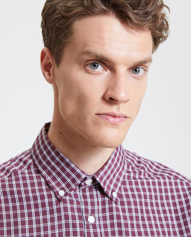 Camicia a quadri colorati uomo