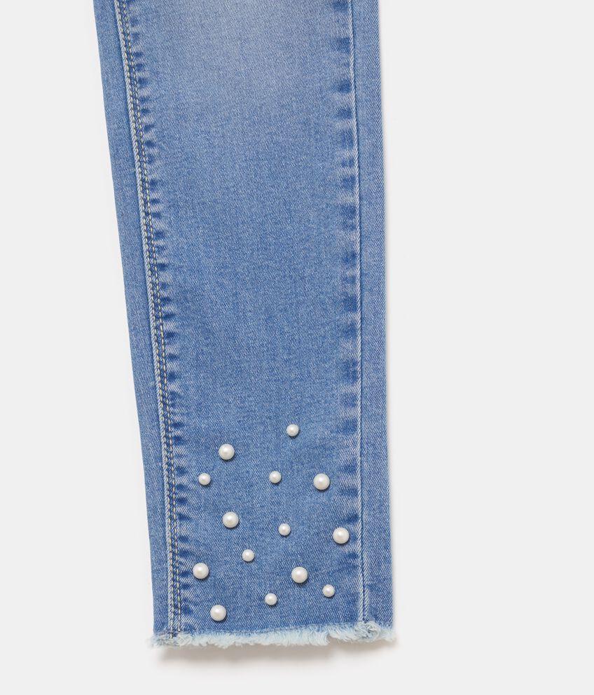 Jeans con perline ragazza