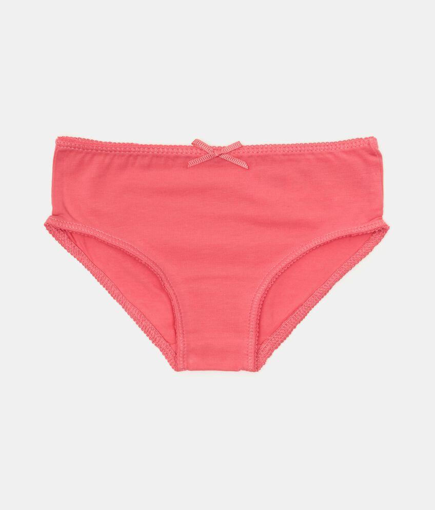 Set con 3 slip in jersey elasticizzato cotone organico neonata