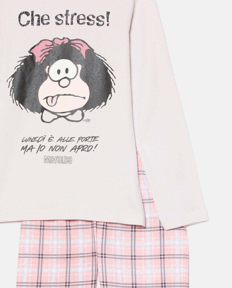 Set pigiama in puro cotone ragazza Mini Me Mafalda single tile 1