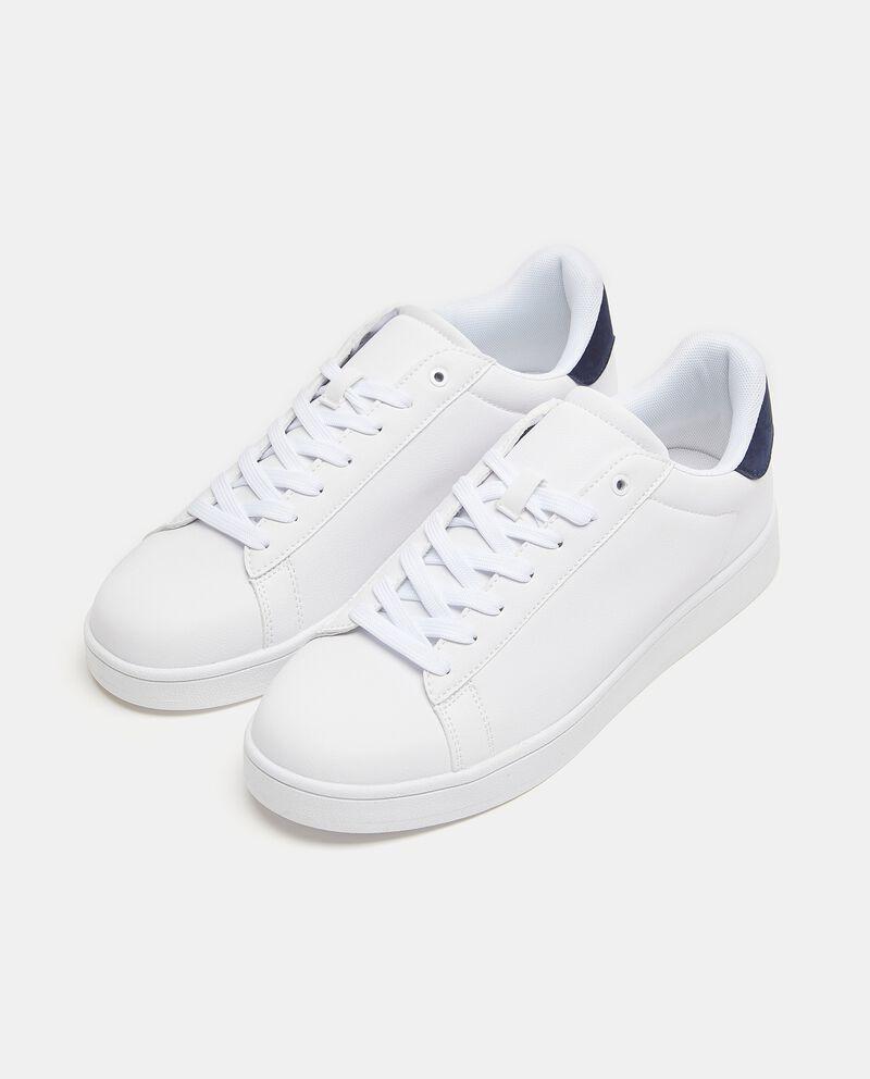 Sneakers con lacci uomo