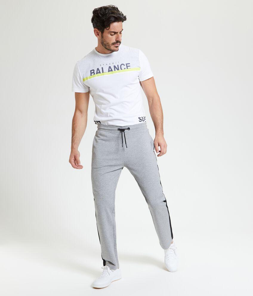 Pantaloni Fitness con bande laterali uomo