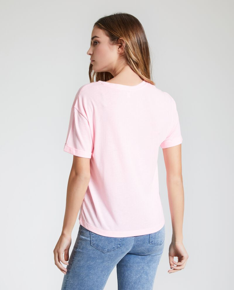 T-shirt con stampa donna single tile 1