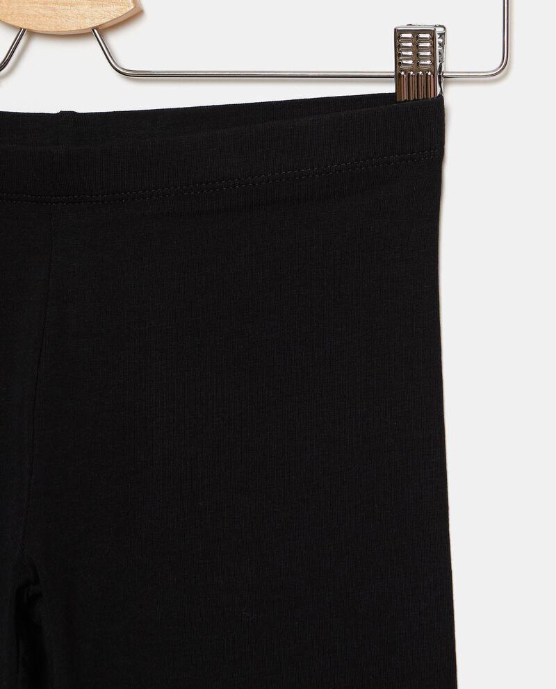 Leggings tinta unita con fascia elastica ragazza