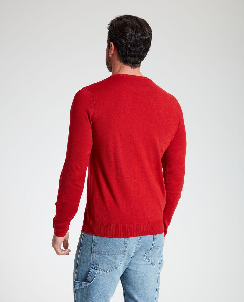 Pullover classico con girocollo uomo