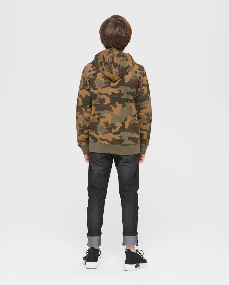 Felpa cotone camouflage